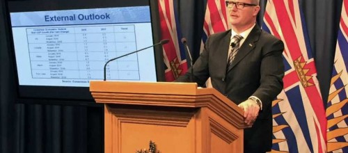 Provincial surplus projected to increase, despite cooling B.C. real estate